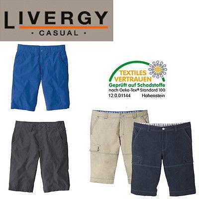 LIVERGY Casual Herren Bermuda 50 52 54 56