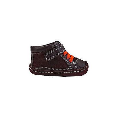 SALE See Kai Run Jungen Baby Leder-Stiefel Krabbelschuhe NP42,50 braun 18192021