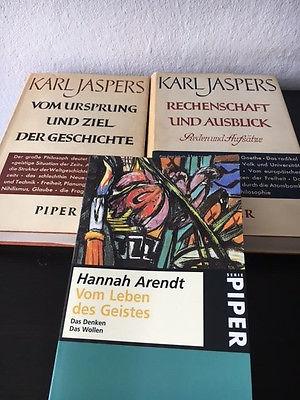 Paket - Arendt und Jaspers, 3 Bücher