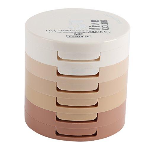 ROPALIA 5 Farbe Berufsgesichts Korrektor Schattierungs Puder Makeup