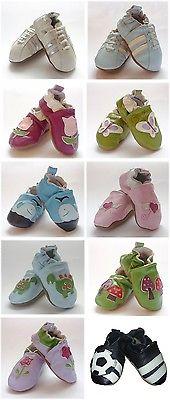 Baby Hausschuhe Lauflernschuhe aus 100% Leder NEU