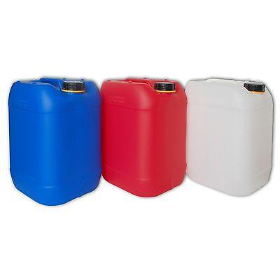Neuware 30 Liter Kanister, 30 l Wasserkanister, Plastekanister, Made in Germany