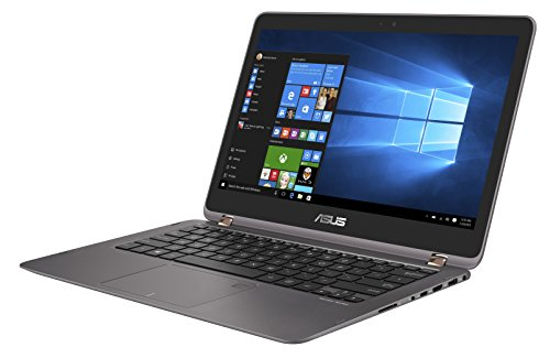 Asus UX360UAK-C4203T 33,7cm (13,3 Zoll) FHD Touch Notebook (Intel Core i5-7200U, Intel HD Graphics, 8GB Arbeitsspeicher, 256GB SSD, Win 10 Home) metall-grau