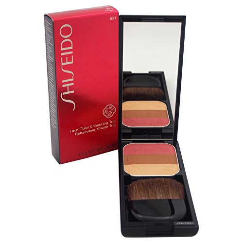 Shiseido Face Color Enhancing Trio unisex, Puder 7 g, Farbe: RS1 - plum, 1er Pack (1 x 0.088 kg)