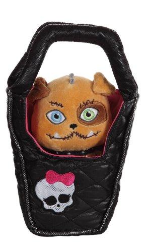 Gipsy 767487 - Monster High Plüschtier Hund in Handtasche - Frankie Stein, 25 cm