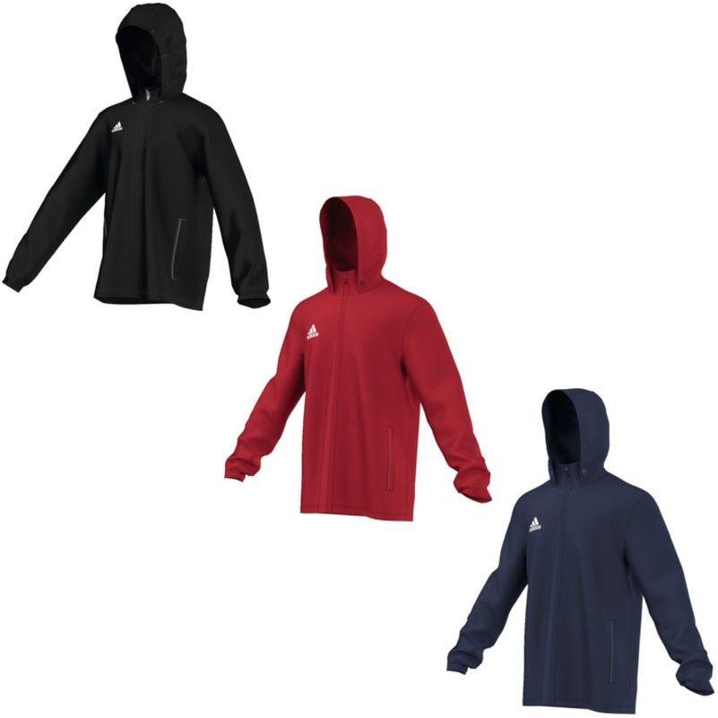 adidas Core 15 Regenjacke Kinder Erwachsene rot blau oder schwarz