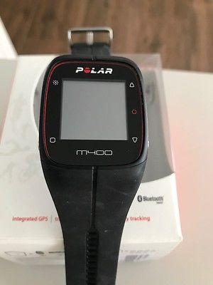 GPS-Laufuhr M400 mit Herzfrequenzmesser, Schwarz