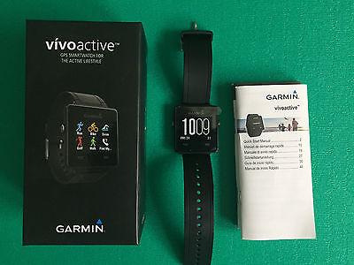 Garmin Vivoactive Sportuhr Herzfrequenzmesser GPS Aktivity Tracker