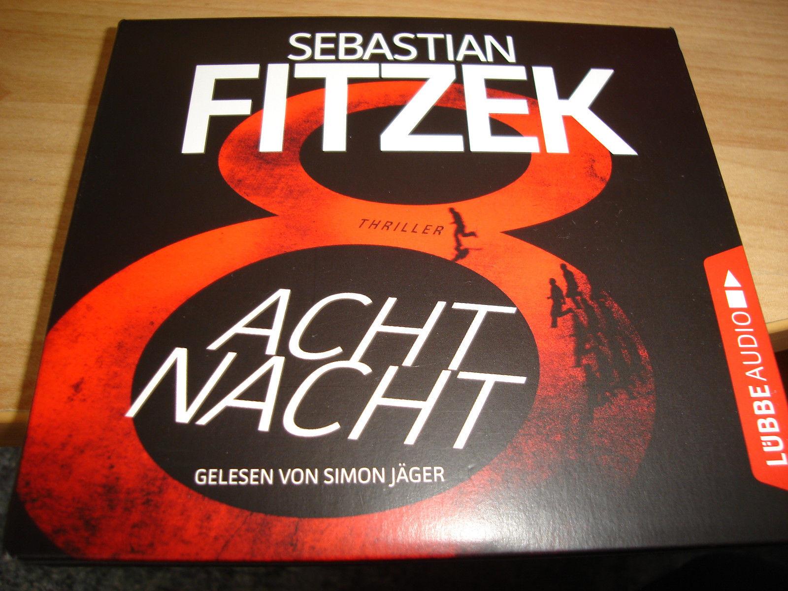 Sebastian Fitzek, AchtNacht, gel. v. Simon Jäger, Hörbuch, Psycho-Thriller, 2017