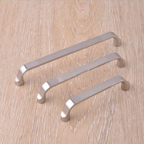 64-160mm Edelstahl Möbelgriff Schrankgriff Schubladengriff Stangengriff Silber