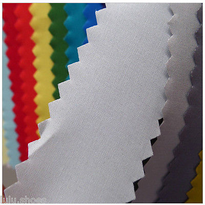 Plain Cotton Fabric Material - Solid Colours to choose - Extra Wide 240cm per M