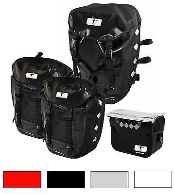 Red Loon Pro 3fach Packtasche + Lenkertasche Gepäckträgertasche Fahrradtasche