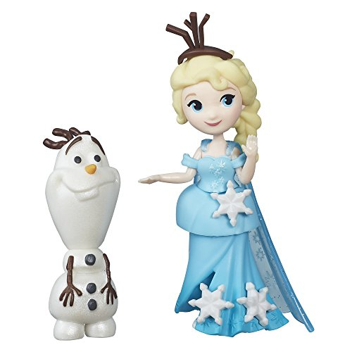 Hasbro Disney Die Eiskönigin B5186ES0 - Disney Eiskönigin Little Kingdom Freunde-Set Esla und Olaf, Figuren