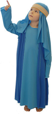 Christmas Nativity- School Play- BLUE SHEPHERD outfit ALL AGES