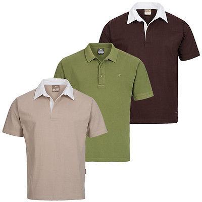 TRESPASS Stamford Froger Herren Polo-Shirt S M L XL Poloshirt Hemd Polohemd neu