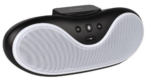 Karcher BT 4220-B Bluetooth-Stereo-Lau... (2x 3 Watt RMS, AUX-IN) schwarz/weiß