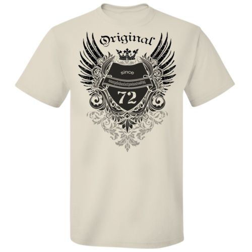 Jahrgangs T-Shirt / Shirt Original since 1972 Jahrgang ver. Farben bis 5XL
