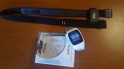 Polar M400 Fitnessuhr mit GPS und Bluetooth Pulsgurt