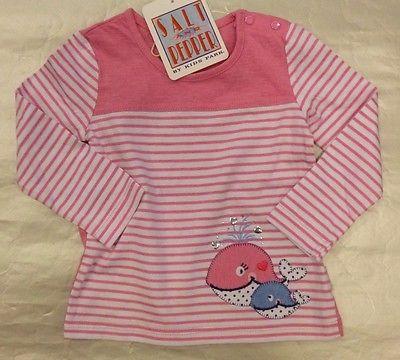 Salt and Pepper Baby Mädchen Langarmshirt  62 68  74  Neu