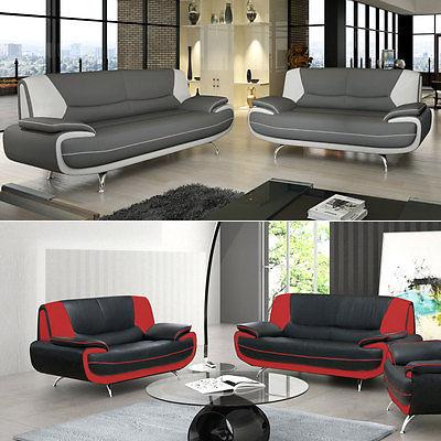 Polstergarnitur Sofagarnitur Couch Sofa Phillip 3+2 Sofas! Große Farbauswahl!