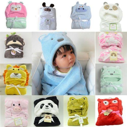 Baby von 0-3 Jahr Schlafsack Baby Umhang Mit Kapuze Süß Tier Design Gut Geschenk
