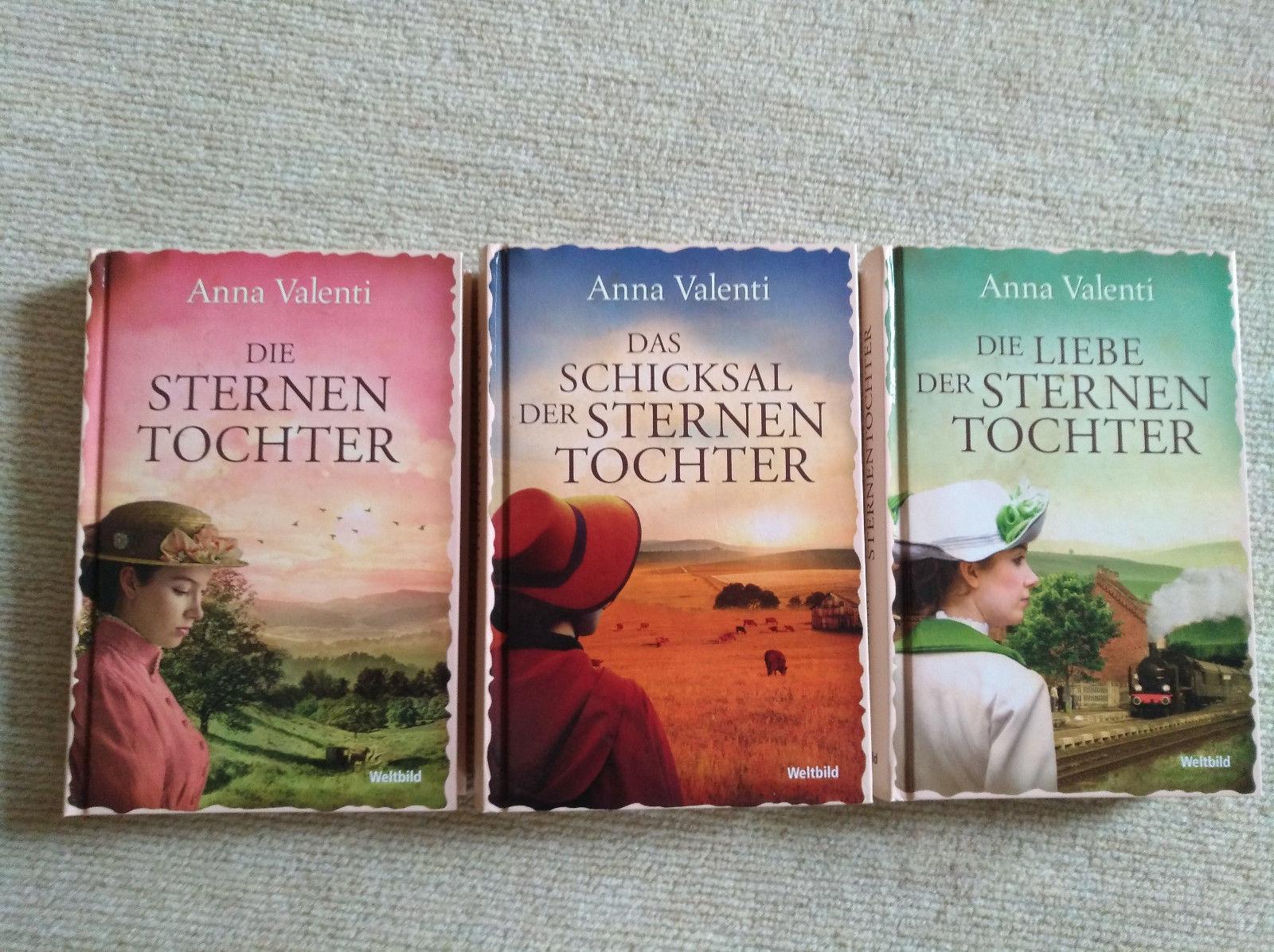 Bücherpaket Die Sternentochter-Saga Band 1-3 Anna Valenti