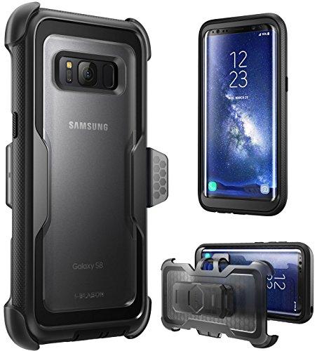 Samsung Galaxy S8 (2017 Release) Hülle, i-Blason [ArmorBox Serie] Case / Cover / Schutzhülle ohne integriertem Displayschutz (schwarz)