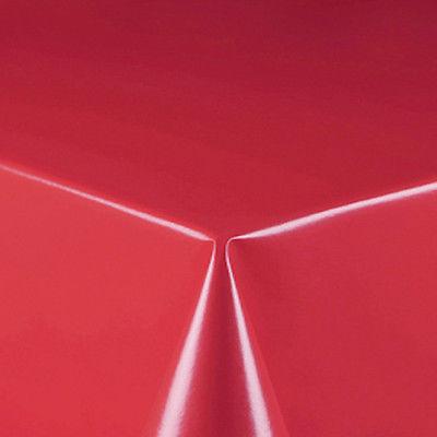 Lackfolie Breite 140 cm Rot UNI ca. 0,15 mm whl Abwaschbare Tischdecke