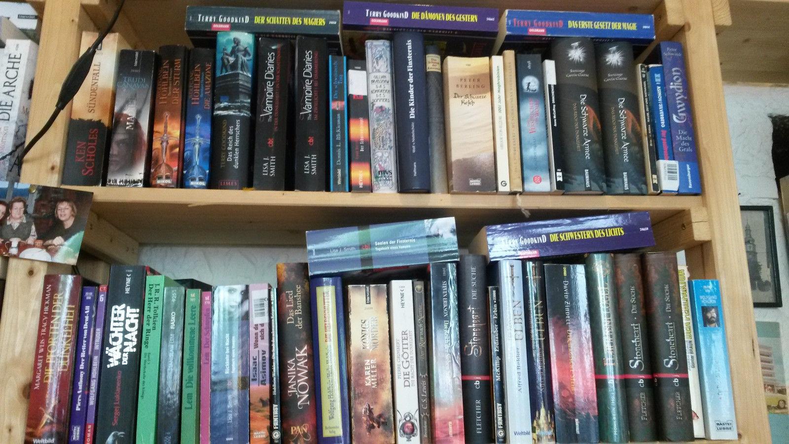 Fantasy / Science-Fiction / Utopie Bücher Konvolut 40 Stück