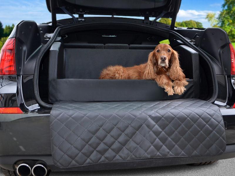 Travelmat Plus, Kofferraumschutz, Hundebett, Auto, Autoschondecke, Kunstleder