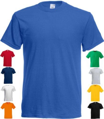 FRUIT OF THE LOOM T-Shirt kurzarm Original Rundhals Shortsleeve-S M L XL XXL(0)