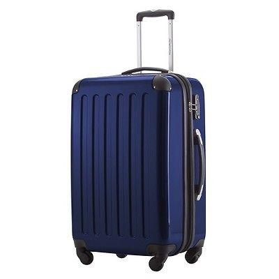 Reisekoffer Trolley Hauptstadtkoffer Alex 74l Hartschale Koffer dunkelblau
