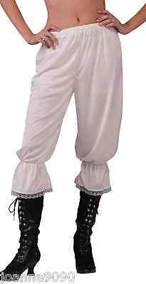Ladies Steampunk Victorian Pantaloons Bloomers Undergarment Fancy Dress Costume