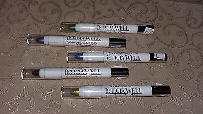 LETICIA WELL Lidschatten Eyeshadow Pen  Blau Gold Silber Grün Lila Braun