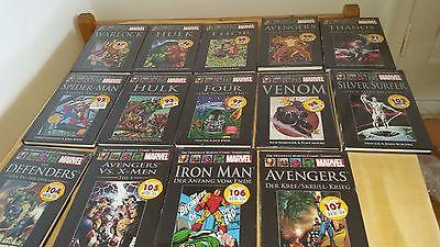 14 Offizielle Marvel Comic Sammlung (NEU+OVP)