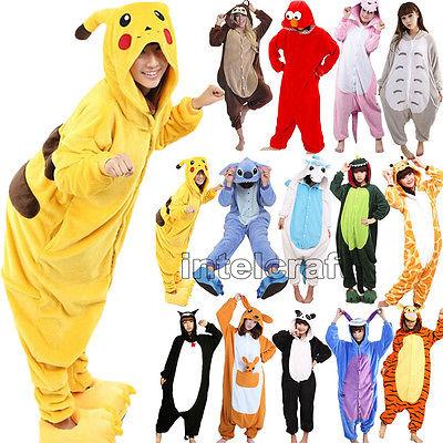 2016 Karneval Pyjama Erwachsene Anime Cosplay Kostüm Onesie Kigurumi Schlafanzug