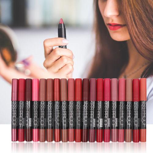 Sexy Menow Kissproof Waterproof Lip Crayon Matte Finish Beauty Lip Stick F1