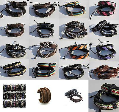 Armband Wickelarmband Surfer Style Tibet Serie Unisex Damen Herren neu %