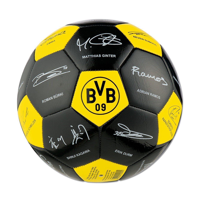 BVB Borussia Dortmund Unterschriftenball / Ball / Fußball / Autogramme 2016/2017