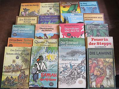Bücherpaket 20x  DDR Ostalgie Reihe Spannend Erzählt   Konvolut