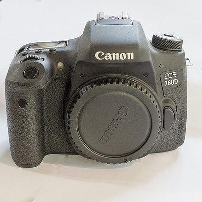 Canon EOS 760D 760 D Gehäuse Body NEUWERTIG