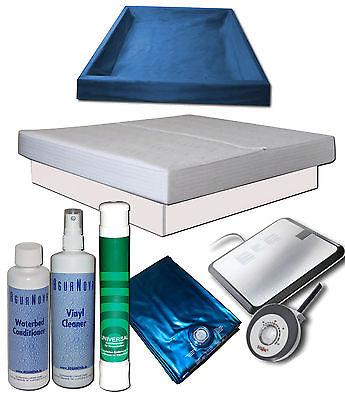 Wasserbett Komplett - MONO Softside Keramik Heizung Sigma K Starter Set Podest