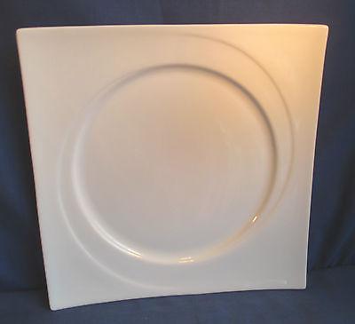 Villeroy & Boch, Speiseteller 25,5 x 25,5cm Teller, Vivo weiß, weitere Porzellan