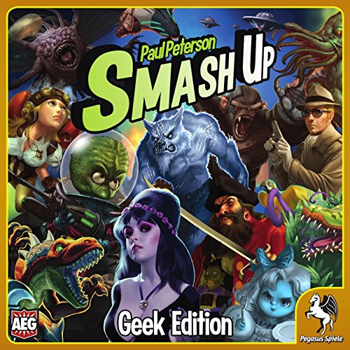 Pegasus Spiele 17265G - Smash Up: Geek Edition