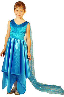 BUDGET Elsa Schnee Queen- Ice Prinzessin-gefroren Queen-Märchen