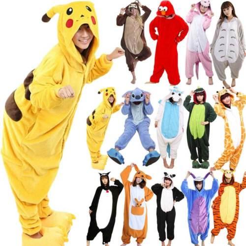 Pyjamas Tier Pyjama Fancy Unisex Kostüm Kleid Nachtwäsche Nachthemd Geschenke
