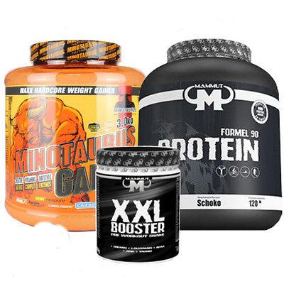 Gainer , Eiweiß , Protein , Booster , Minotaurus , BBN , Mammut Set TOP PREIS