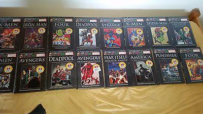 30 Offizielle Marvel Comic Sammlung (NEU+OVP)