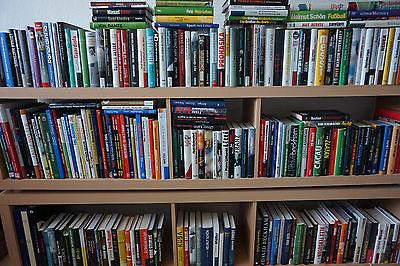 Einmalige Fußball-Büchersammlung