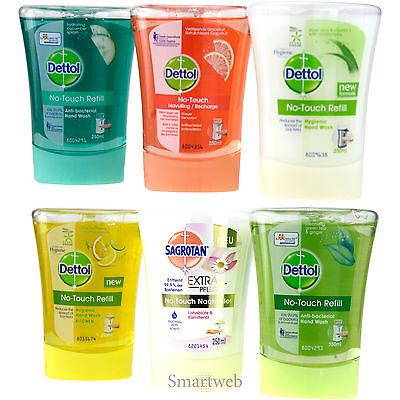 2 x Sagrotan Nachfüll Handseife Seife Handwaschmittel Anti Bakteriel Handpflege